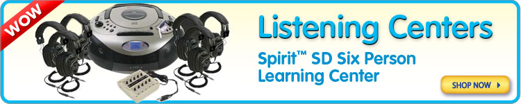 Spirit™ SD Six Person Learning Center