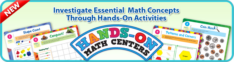 NEW Hands-On Math Centers!