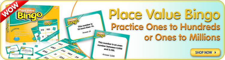 Place Value Bingo Games