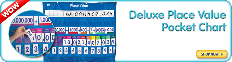 Deluxe Place Value Pocket Chart