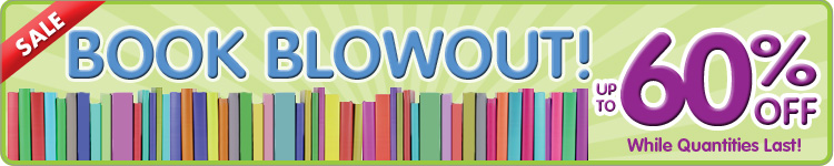 Book Blowout! up to 70% off Select Books... While Quantities Last!