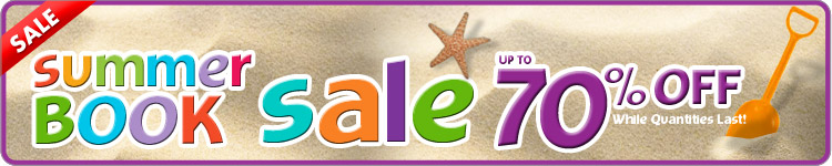 Summer Book Sale! up to 70% off Select Books... While Quantities Last!