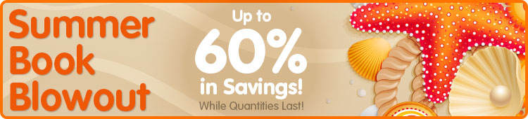 Book Blowout! up to 60% off Select Books... While Quantities Last!