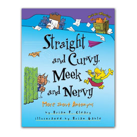 Words Are CATegorical® - Straight and Curvy, Meek and Nervy: More About Antonyms