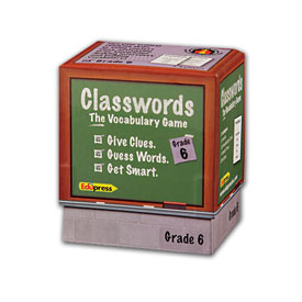 Classwords Vocabulary Game - Grade 6