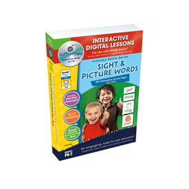 Sight and Picture Words Big Box  IWB - Digital Lesson Plans