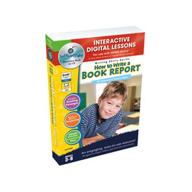 Digital book reports lesson plans