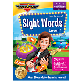 Rock 'N Learn® DVD: Sight Words - Level 1