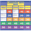 Class Quiz Pocket Chart - Language Arts Add-on Cards: Grades 2-4