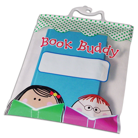 "Book Buddy Bags - 10½"" x 12½"" - Set of 6"