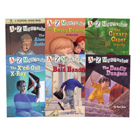 A To Z Mysteries (A-M) - Set One - Set of 13