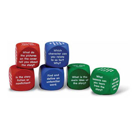 Reading Comprehension Cubes - Set of 6