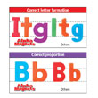 "Color-Coded AlphaMagnets: Jumbo 2-1/2"" Uppercase - Set of 42"