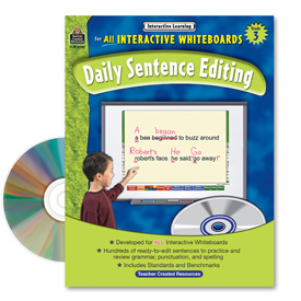 Interactive Learning: Daily Sentence Editing: Grade 3