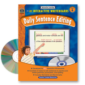 Interactive Learning: Daily Sentence Editing: Grade 4