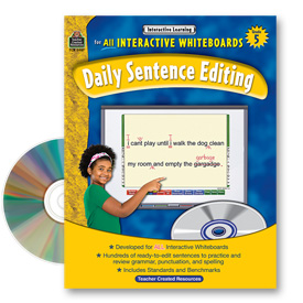 Interactive Learning: Daily Sentence Editing: Grade 5