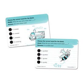 Hot Dots® Vocabulary Development Cards - Prefixes and Suffixes