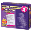 Reading Comprehension Test Prep in a Flash™: Gr. 4