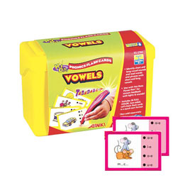 Hot Dots® Phonics: Set 3: Vowels