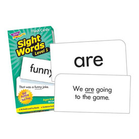 Flash Cards: Sight Words Level 1
