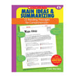 Reading Passages That Build Comprehension - Main Ideas & Summarizing