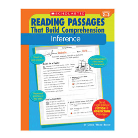 Reading Passages That Build Comprehension - Inference
