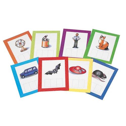 Cvc Word Building Cards Set Of 24 Phonemic Awareness