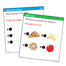 Hot Dots® Standards-Based Language Arts: Grade 1