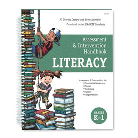 Assessment and Intervention Handbook: Literacy Grades K-1