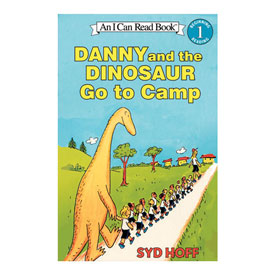 Danny and the Dinosaur Go to Camp - Read Along Set (4 Books & 1 CD)