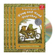 Frog and Toad Together - Read Along Set (4 Books & 1 CD)