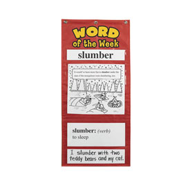 Word of the Week Chart Set: Gr 4-5