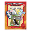 Document-Based Questions for Reading Comprehension and Critical Thinking: Gr 2