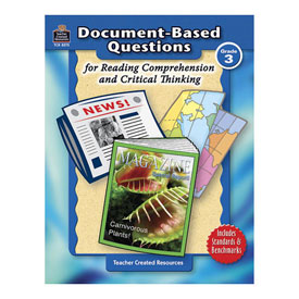 Document-Based Questions for Reading Comprehension and Critical Thinking: Gr 3