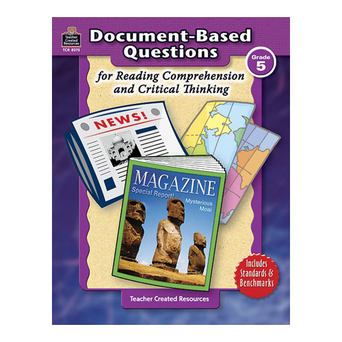 reading and critical thinking questions Reading is about so much more than sounding out vowels and consonants what makes a good reader the critical thinking co products provide exercises.