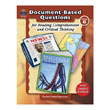 Document-Based Questions for Reading Comprehension and Critical Thinking: Gr 6