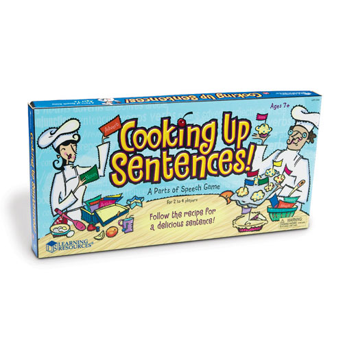 Cooking Up Sentences™: Parts Of Speech Game