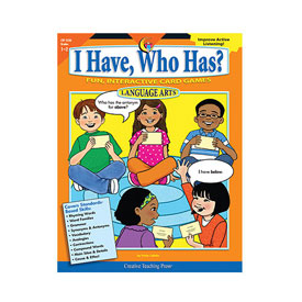 I Have, Who Has? Language: Grades 1-2