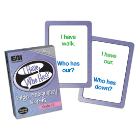 I Have, Who Has? High Frequency Words Game: Grades 1-2