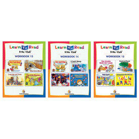 Learn to Read Workbook Set of 3: Levels C-F Volume 2