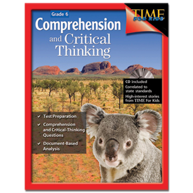 TIME For Kids® Comprehension and Critical Thinking: Gr. 6