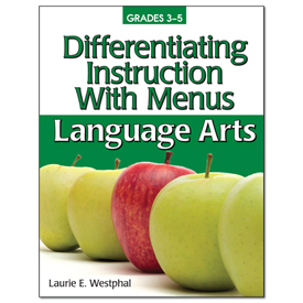 Differentiating Instruction With Menus 3-5 - Language Arts, 2nd Edition