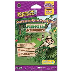 Sequencing and Finding Cause & Effect: Jungle Journey Interactive Game CD