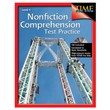 Nonfiction Comprehension Test Practice: Grade 4