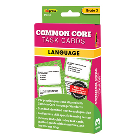 Common Core Language Task Cards: Grade 3