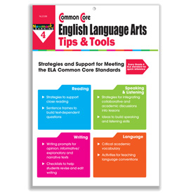 Common Core ELA Tips and Tools - Grade 4