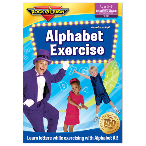 Rock 'N Learn Alphabet DVD Review and Giveaway - AnnMarie John
