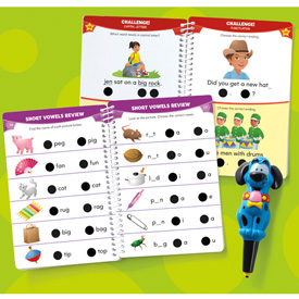 Hot Dots® Jr. Let's Master Kindergarten Reading