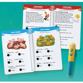 Hot Dots® Let's Master Grade 1 Reading