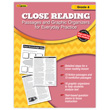 Close Reading Practice Book - Grade 6